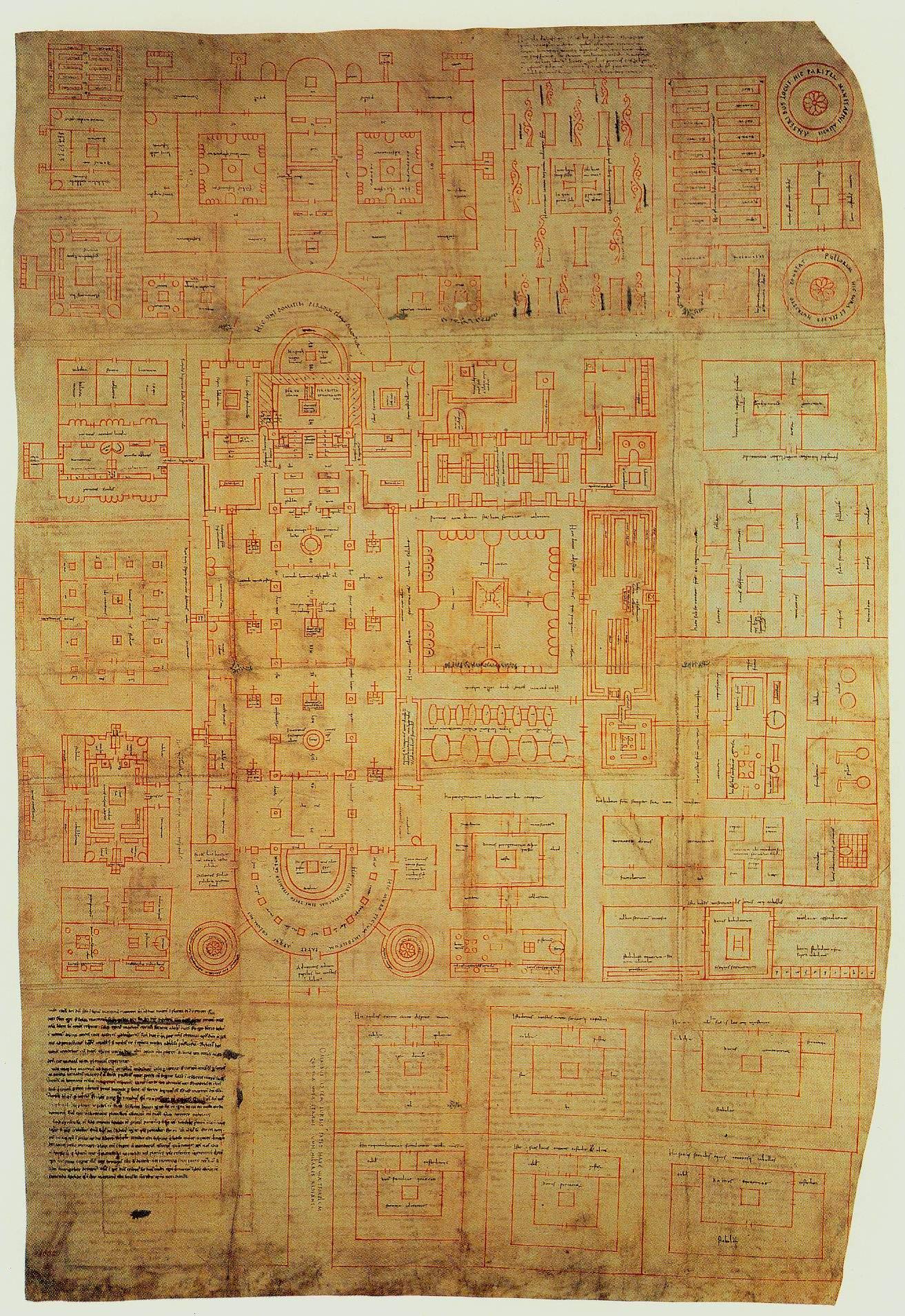 le plan de saintgall le jardin du gu233risseur de