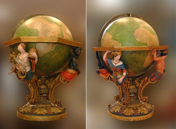 globe terrestre mesurer le ciel et la terre. Black Bedroom Furniture Sets. Home Design Ideas